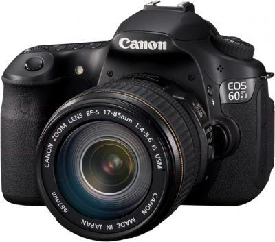 Зеркальный фотоаппарат Canon EOS 60D Body + 17-85mm IS - общий вид
