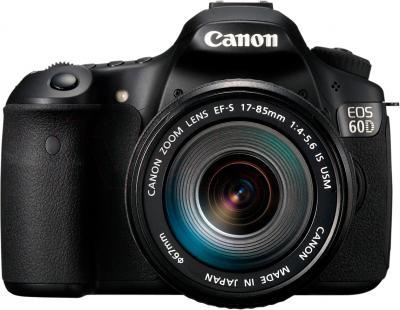 Зеркальный фотоаппарат Canon EOS 60D Body + 17-85mm IS - вид спереди