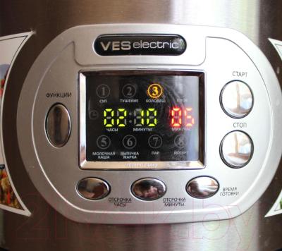 Мультиварка VES SK-A12 - панель