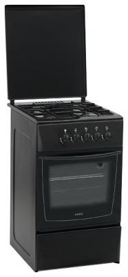 Кухонная плита Nord ПГ4-104-4А BK - общий вид