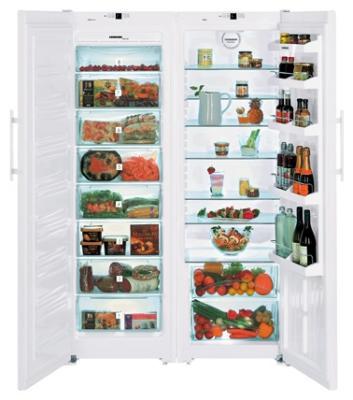 Холодильник с морозильником Liebherr SBS 7212 - общий вид