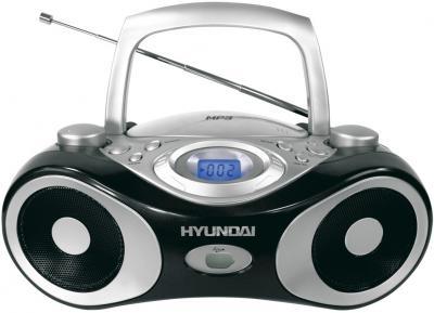 Магнитола Hyundai H-1403 Black - общий вид