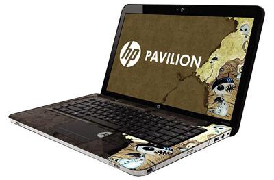 Ноутбук HP Pavilion dv6-3299er (LH734EA) - сбоку