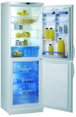 Холодильник с морозильником Gorenje RK 6357 W - общий вид
