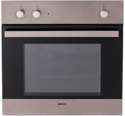 Газовый духовой шкаф Beko OIG 12100 X - вид спереди
