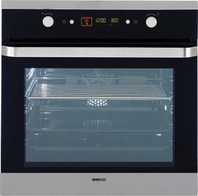 Электрический духовой шкаф Beko OIE 25500 X - Вид спереди