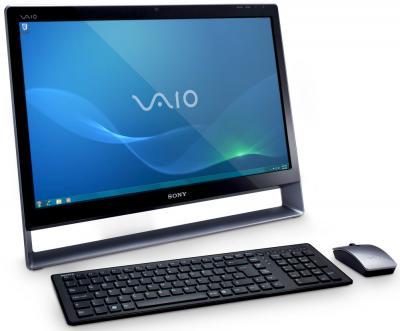 Моноблок Sony VAIO VPC-L14S1R/B - повернут