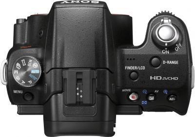 Зеркальный фотоаппарат Sony SLT-A55VL (SLTA55VL.CEE2) - Вид сверху