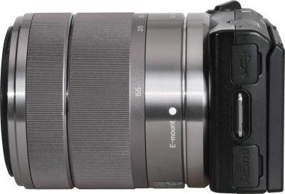 Беззеркальный фотоаппарат Sony Alpha NEX-5D - вид сбоку