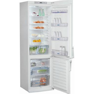 Холодильник с морозильником Whirlpool WBR 3512 W - внутренний вид