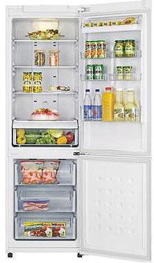 Холодильник с морозильником Samsung RL-40 SCVB - Общий вид
