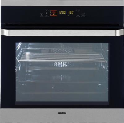 Электрический духовой шкаф Beko OIM 25600 XP - Вид спереди