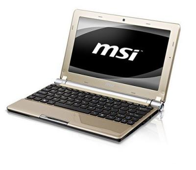 Ноутбук MSI U160-447XBY - повернут