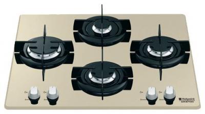 Газовая варочная панель Hotpoint TD 640 S(CH) IX - общий вид