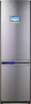 Холодильник с морозильником Samsung RL-55 VQBRS - вид спереди