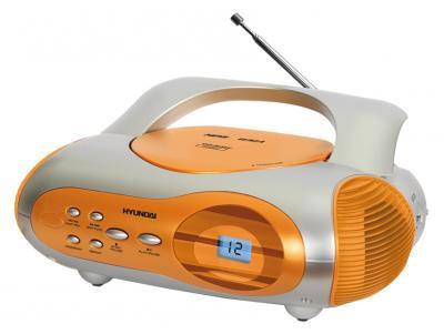 Магнитола Hyundai H-1413 Orange - общий вид
