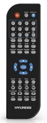 DVD-плеер Hyundai H-DVD5069 - пульт управления
