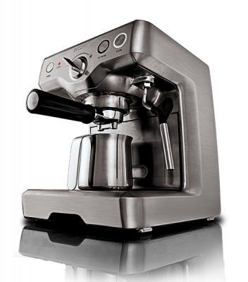 Кофеварка эспрессо Bork C800 (CM EMN 9922 BK) - вид сбоку