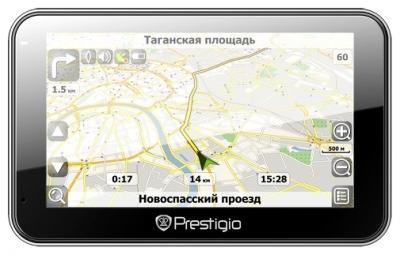 GPS навигатор Prestigio GeoVision 5500BTFMHD - спереди