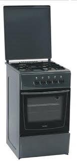 Кухонная плита Nord ПГ4 200-1А серая - общий вид