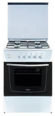 Кухонная плита Nord ПГ4 200-1А WH - общий вид