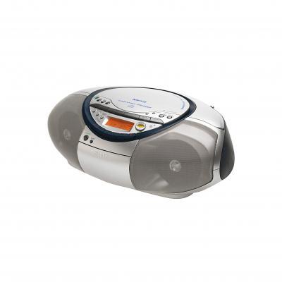 Магнитола Sony CFD-S35CP Silver - Вид спереди