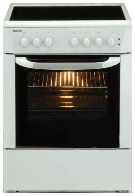 Кухонная плита Beko CE 58100 S - вид спереди