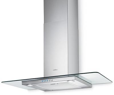 Вытяжка Т-образная Elica Flat Glass A/60 IX - общий вид