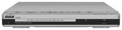 DVD-плеер BBK DV138SI Silver - общий вид