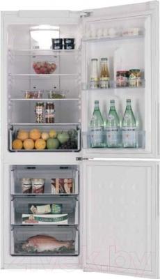 Холодильник с морозильником Samsung RL-40 SCSW