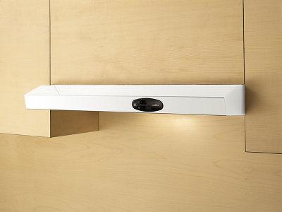 Вытяжка плоская Elica KREA LUX GFA WH/F/50 - встроенная в шкаф
