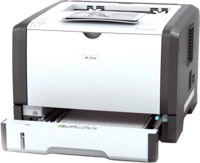 Принтер Ricoh SP 311DN - вид в проекции