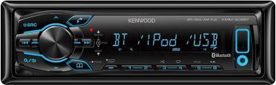 Бездисковая автомагнитола Kenwood KMM-302BT - вид спереди