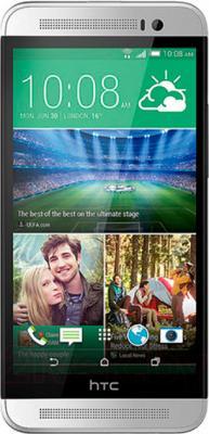 Смартфон HTC One Dual / E8 (белый) - общий вид