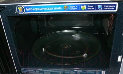 Микроволновая печь Samsung GE83KRW-1/BW - тарелка