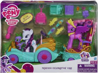 Игровой набор Hasbro My Little Pony Принцесса Твайлайт Спаркл на автомобиле (A3993) - упаковка