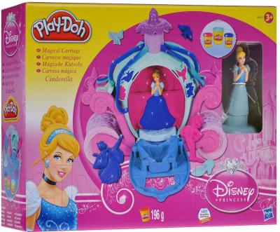 Игровой набор Hasbro Play-Doh Волшебная карета Золушки (A6070) - упаковка