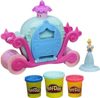 Игровой набор Hasbro Play-Doh Волшебная карета Золушки (A6070) - общий вид