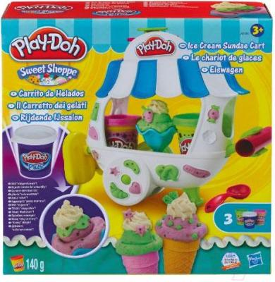Игровой набор Hasbro Play-Doh Вагончик мороженого (A2106) - упаковка