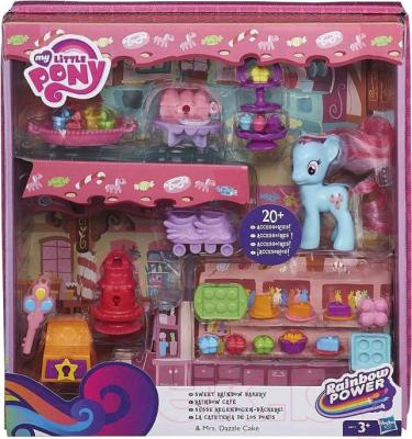 Игровой набор Hasbro My Little Pony Рейнбоу кафе (A8212) - упаковка