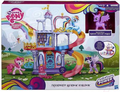 Игровой набор Hasbro My Little Pony Королевство Твайлайт Спаркл Рейнбоу (A8213) - упаковка