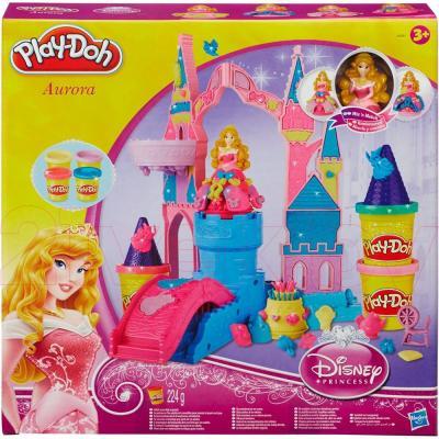 Игровой набор Hasbro Play-Doh Чудесный замок Авроры (A6881) - упаковка