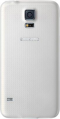Смартфон Samsung Galaxy S5 / G900F (белый) - вид сзади