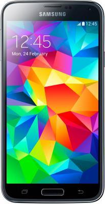 Смартфон Samsung Galaxy S5 / G900F (черный) - общий вид