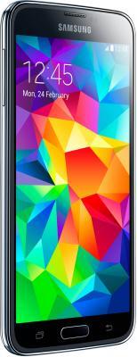 Смартфон Samsung Galaxy S5 / G900F (черный) - вполоборота