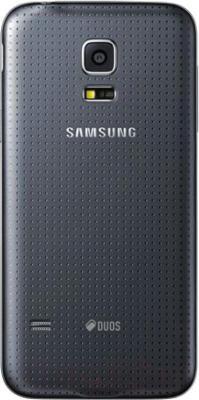 Смартфон Samsung Galaxy S5 mini Duos / G800H/DS (черный) - задняя панель