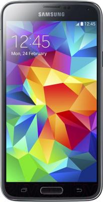 Смартфон Samsung Galaxy S5 mini Duos / G800H/DS (черный) - общий вид