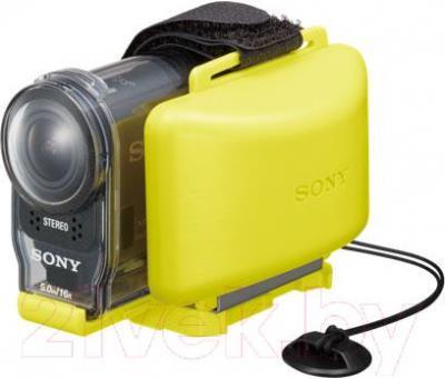Поплавок для экшн-камеры Sony AKA-FL2 - на камере