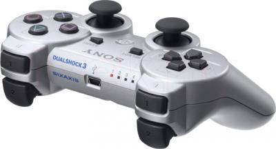 Геймпад Sony Dualshock 3 (Silver) - общий вид