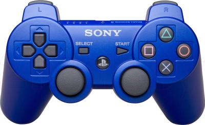 Геймпад Sony Dualshock 3 (Blue) - общий вид